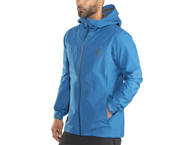 Black Diamond Liquid Point Shell Jacket Men Kingfisher